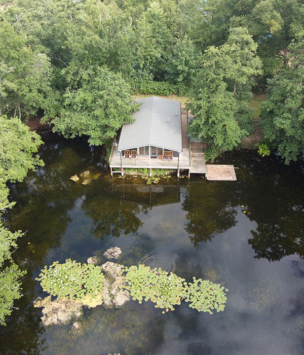 Wilsons Lodge Arial View